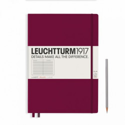 LT NOTEBOOK A6 Hard port red 187 p. ruled