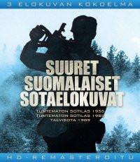 Suuret suomalaiset sotaelokuvat 3-BD-box
