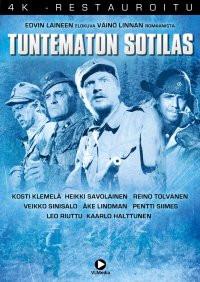 Tuntematon sotilas (1955) 4K-restauroitu DVD Laine, Edvin