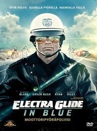 Moottoripy�r�cowboy - Electra Glide in Blue