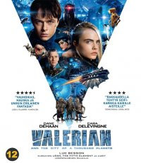 Valerian and the City of a Thousand Planets Blu-Ray Besson, Luc
