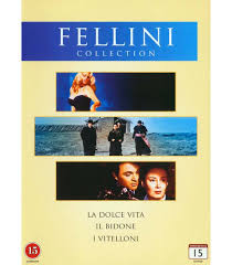 FELLINI COLLECTION, DVD-tallenne
