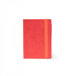 MY NOTEBOOK - SMALL LINED NEON CORAL