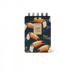MINI SPIRAL  NOTEBOOK  - TOUCANS