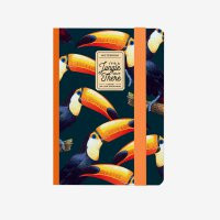 PHOTO NOTEBOOK SMALL - TOUCANS