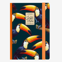 PHOTO NOTEBOOK MEDIUM - TOUCANS