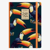 PHOTO NOTEBOOK LARGE - TOUCANS