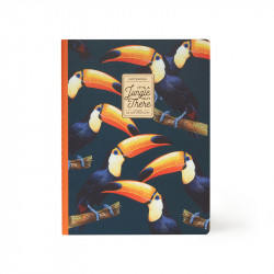 QUADERNO LARGE - LINED - TOUCANS