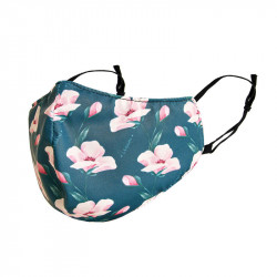 WHAT A MASK! - REUSABLE FACE MASK - FLOWERS