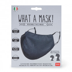 WHAT A MASK! - REUSABLE FACE MASK - GEOMETRIC