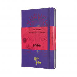 Moleskine Notebook Harry Potter LG viiv 5 viol