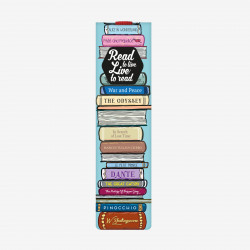 BOOKMARK WITH ELASTIC BAND - READ