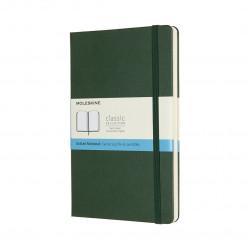 MOLESKINE NOTEBOOK LARGE DOTTED MYRTLE GREEN HARD COVER