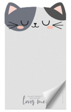 PAPER THOUGHTS- NOTEPAD - KITTY