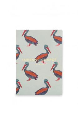 Notebook A5 rld. / pelican