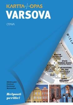 Varsova Kartta Opas Uusi Kartta 1704x Kirjat Rosebud Fi