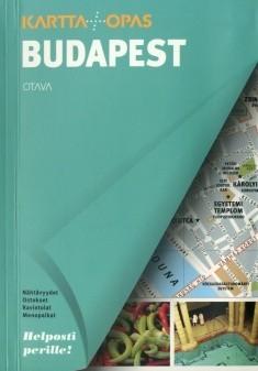 Budapest Kartta Opas Uusi Kartta 1704x Kirjat Rosebud Fi