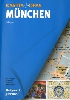 Munchen Kartta Opas Kartta 1809x Kirjat Rosebud Fi