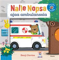 Nalle Nopsa ajaa ambulanssia