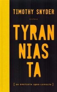 Tyranniasta Snyder, Timothy