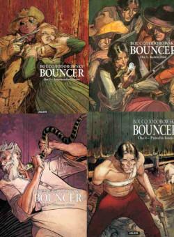 Bouncer-sarjakuva, osat 1 - 4